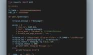 TG机器人(四):使用python脚本推送信息